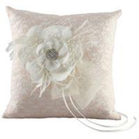 Ivy Lane Design™ Bianca Ring Pillow in Ivory