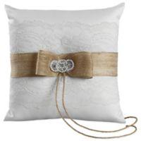 Ivy Lane Design™ Savannah Ring Pillow in White
