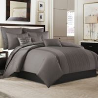 Manor Hill® Ellis European Pillow Sham in Charcoal