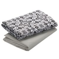 Graco® Pack 'n Play® 2-Pack Waterproof Playard Sheet in Sutton/Grey