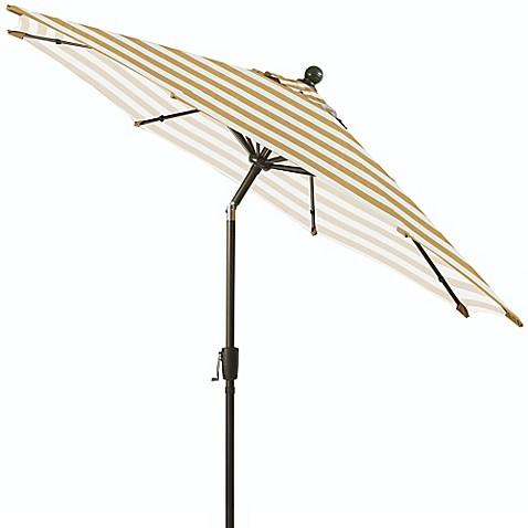 9 Foot Round Aluminum Patio Umbrella Bed Bath Amp Beyond