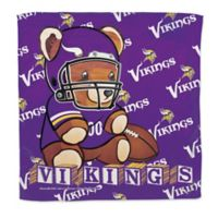 NFL Minnesota Vikings Littlest Fan Burp Cloth