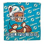 NFL Miami Dolphins Littlest Fan Burp Cloth