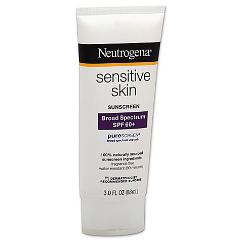 Sensitive skin sunscreen