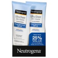 Ultra Sheer® Dry-Touch 2-Pack 3 oz. Sunscreen Broad Spectrum SPF 45