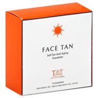 TanTowel® 15-Count Face Tan Towelette
