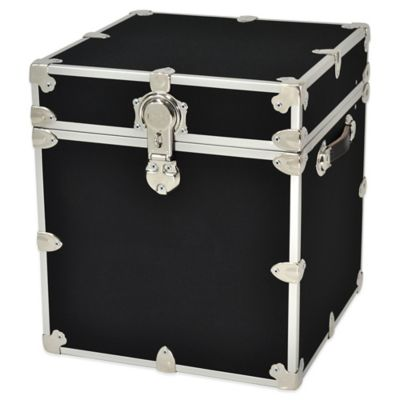 rhino trunk and case cube armor trunk in black