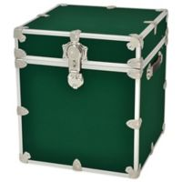 Rhino Trunk and Case™ Cube Armor Trunk in Forest Green