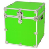 Rhino Trunk and Case™ Cube Armor Trunk in Neon Green