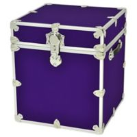 Rhino Trunk and Case™ Cube Rhino Armor Trunk in Purple