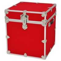 Rhino Trunk and Case™ Cube Rhino Armor Trunk in Red