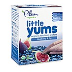 Plum Organics® 6-Packs of 3 Little Yums® 6-Pack Blueberry & Fig Organic Teething Wafers