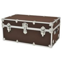 Rhino Trunk and Case® Large Rhino Armor Trunk in Dark Brown