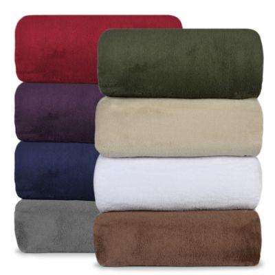 Berkshire Blanket 174 Serasoft 174 Supreme Throws Bed Bath