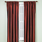 Argentina 84-Inch Rod Pocket Window Curtain Panel in Crimson