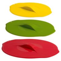 Trudeau Silicone Stackable Lids (Set of 3)