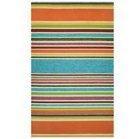 Couristan® Covington Collection Sherbet Stripe 2-Foot x 4-Foot Rug