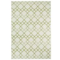 Kevin O'Brien by Capel Rugs Finesse-Santorini 3-Foot 11-Inch x 5-Foot 6-Inch Rug in Celery