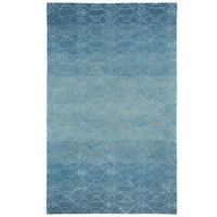 Kevin O' Brien by Capel Rugs Ramblas 3-Foot x 5-Foot Rug in Mediterranean Blue