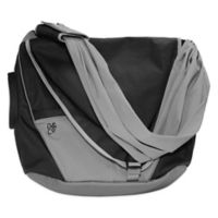 Daddy & Company Messenger Diaper Pack in Black