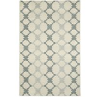Kevin O'Brien by Capel Rugs Riviera 5-Foot x 8-Foot Rug in Cream