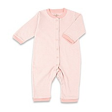 Tadpoles™ by Sleeping Partners Organic Cotton Footless Snap-Front Romper in Coral