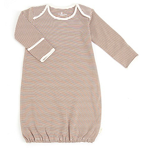 Tadpoles™ by Sleeping Partners Size 0-6M Organic Cotton Sleep Gown in Cocoa