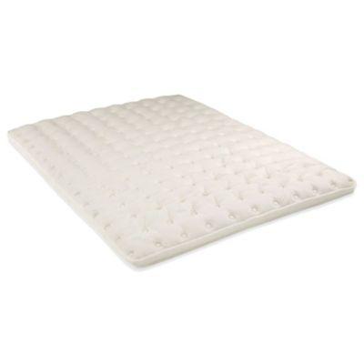 naturepedic organic 3inch overture queen pillowtop topper - Firm Mattress Topper