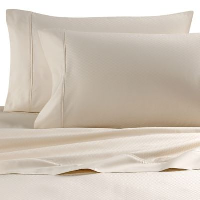 wamsutta egyptian cotton deep pocket full sheet set in ivory