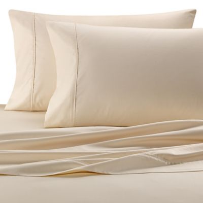 wamsutta egyptian cotton california king sheet set in ivory basketweave - Cal King Sheets