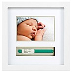 Pearhead I.D. Bracelet and 3-Inch x 5-Inch Photo Frame in White
