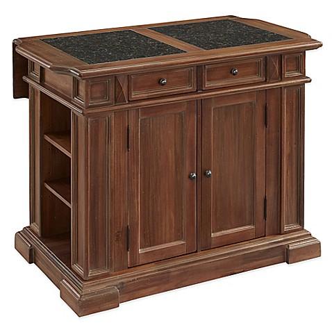 Home styles americana vintage kitchen island bed bath for Vintage kitchen island for sale