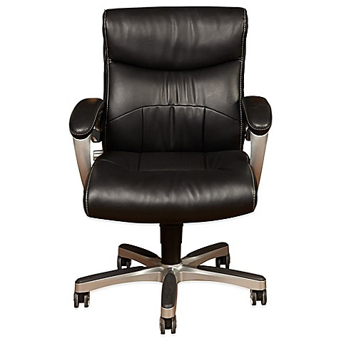 Etonnant Sealy® Posturepedic Fixed Arm Office Chair In Black