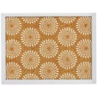 WallPops!® Catalina Framed Printed Cork Board in White