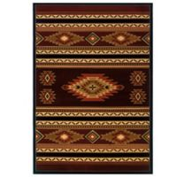 United Weavers Soaring Diamond 7-Foot 10-Inch x 10-Foot 6-Inch Accent Rug in Terracotta