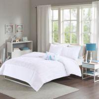 Mizone Mirimar Full/Queen Comforter Set in White