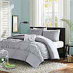 Mizone Mirimar Full/Queen Comforter Set in Grey