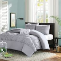 Mizone Mirimar Twin/Twin XL Duvet Cover Set in Grey