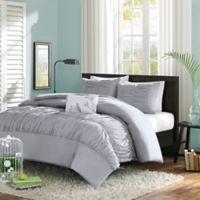 Mizone Mirimar King/California King Comforter Set in Grey