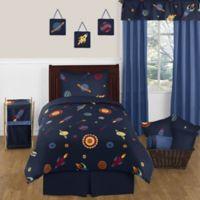 Sweet Jojo Designs Space Galaxy 4-Piece Twin Comforter Set