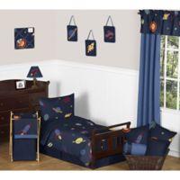 Sweet Jojo Designs Space Galaxy 5-Piece Toddler Bedding Set
