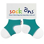 Sock Ons® Size 0-6M Classic in Turquoise