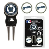 MLB Milwaukee Brewers Divot Tool with Markers Pack