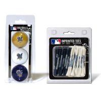MLB Milwaukee Brewers Golf Ball and Golf Tee Pack