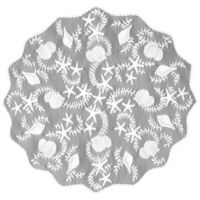 Heritage Lace® Tidepool 42-Inch Round Table Topper in White