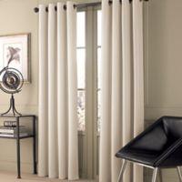 Valeron Stradivari 95-Inch Room Darkening Window Curtain Panel in Eggshell