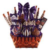 Mrs. Prindable's Premium Signature Deluxe Caramel Apple Basket Gift Set