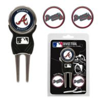 MLB Atlanta Braves Divot Tool with Markers Pack