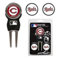 MLB Cincinnati Reds Divot Tool with Markers Pack