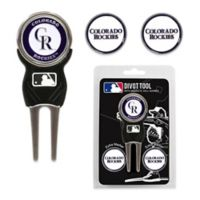 MLB Colorado Rockies Divot Tool with Markers Pack